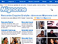 Site http://www.mignonne.com - Rencontre Libertine Gratuite - Mignonne