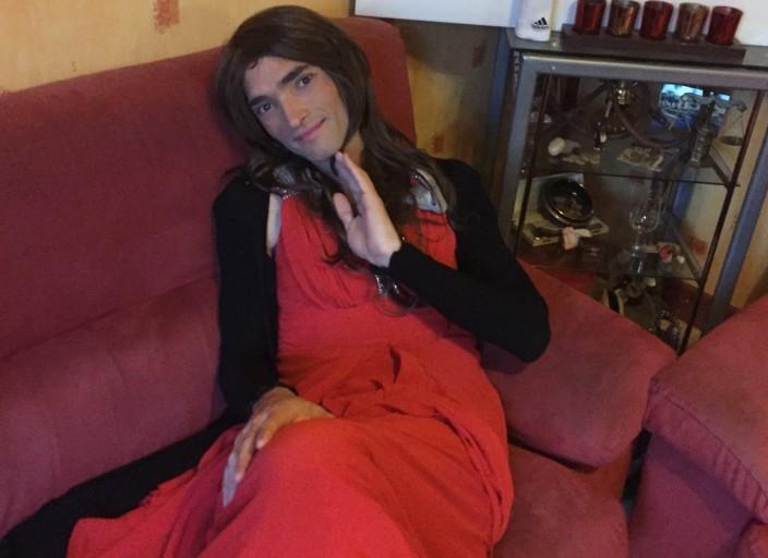 Laura travestie pour Trans Trav