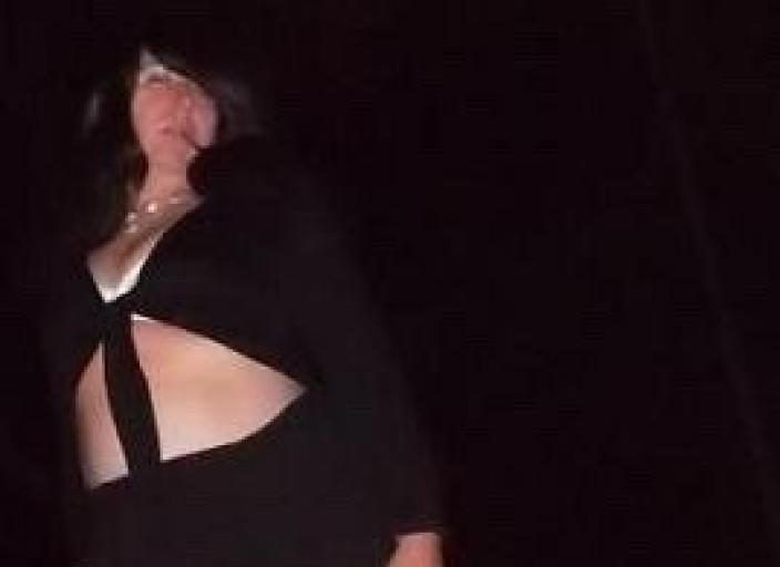 travestie aiment porté des bas nylon