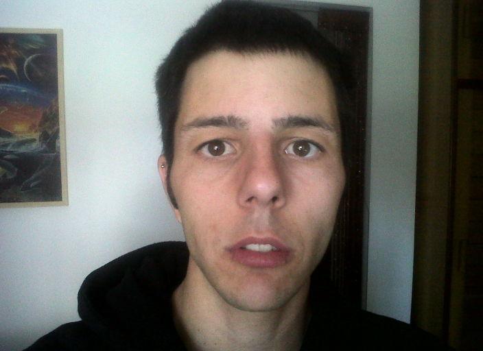 jeune homme de 27ans